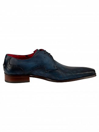 Jeffery West Jeans Leather Shoes