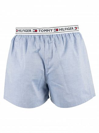 Tommy Hilfiger Coronet Blue Woven Trunks