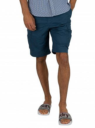 Superdry Bayside Navy World Wide Cargo Shorts