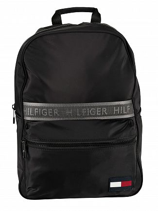 Tommy Hilfiger Black Sport Mix Backpack