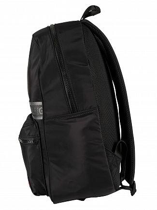 Tommy Hilfiger Black Sport Mix Backpack