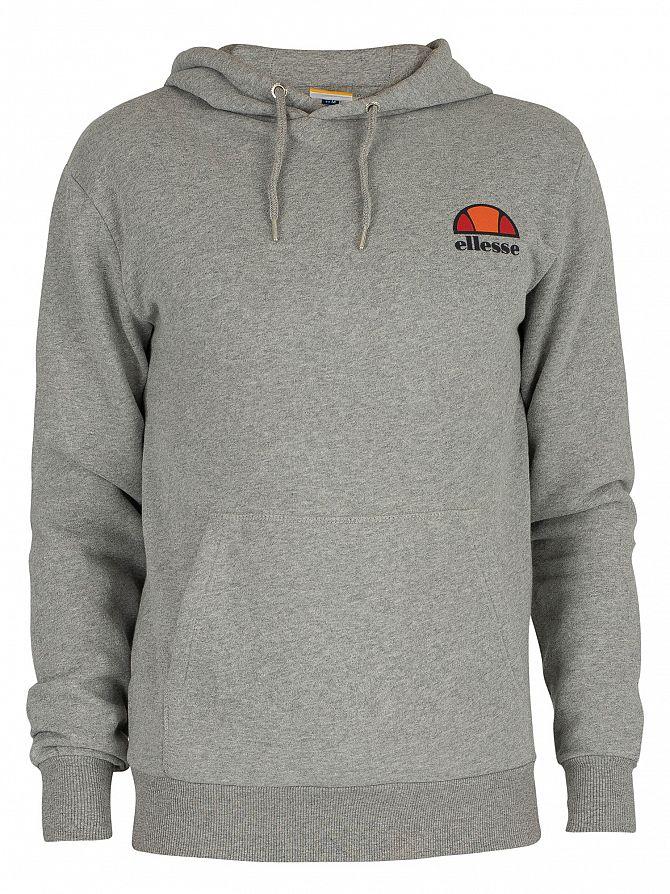 e997514f Details about Ellesse Men's Toce Left Logo Hoodie, Grey