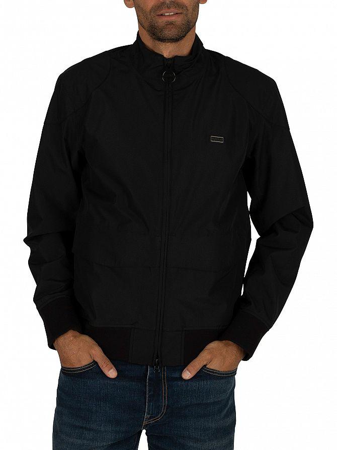 Barbour International Black Broad Jacket