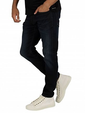 G-Star Dark Aged 3301 Slim Jeans