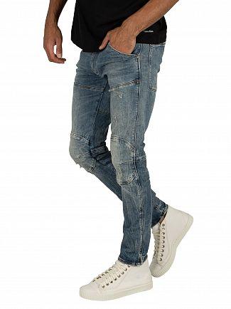 G-Star Vintage Aged Destroy 5620 3D Skinny Jeans