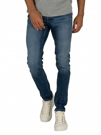 Jack & Jones Blue Denim Glenn Original 814 Slim Jeans