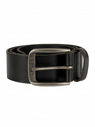 Levi's Black Alturas Leather Belt