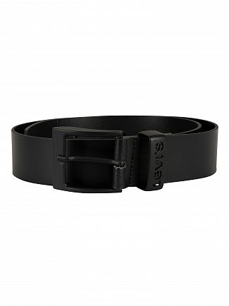 Levi's Black Ashland Leather Belt