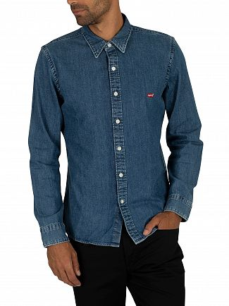Levi's Redcast Stone Battery Denim Shirt