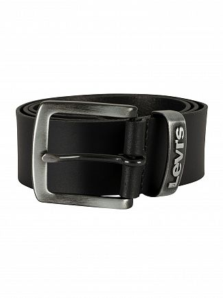 Levi's Black Pilchuck Leather Belt