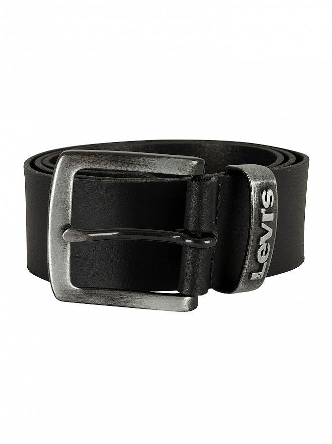 Levi's Black Pilchuck Leather Belt