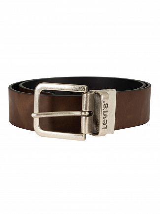 Levi's Brown Reversible Leather Belt