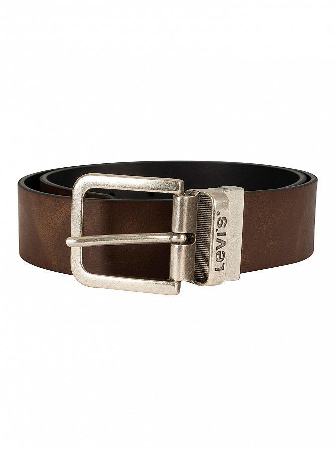 Levi's Brown Reversible Leather Belt