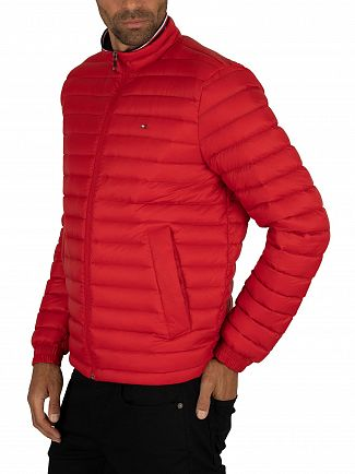 Tommy Hilfiger Haute Red Packable Down Jacket