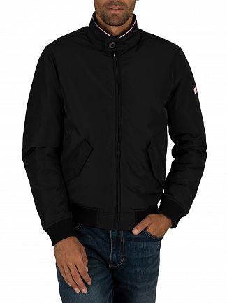 Tommy Hilfiger Maritime Blue Reversible Down Harrington Jacket