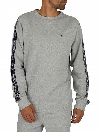 Tommy Hilfiger Grey Heather Track Sweatshirt