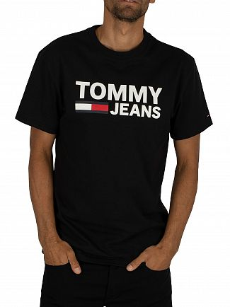 Tommy Jeans Black Classic T-Shirt