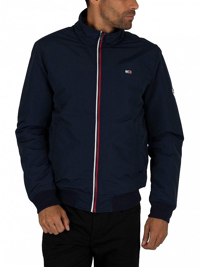 Tommy Jeans Black Iris Navy Essential Padded Jacket