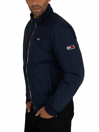 Tommy Jeans Black Iris Navy Essential Padded Jacket