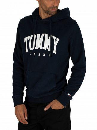 Tommy Jeans Black Iris Navy Essential Pullover Hoodie