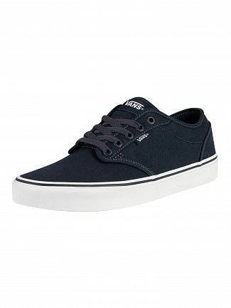Vans Navy/White Atwood Canvas Trainers