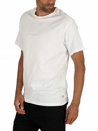 Levi's White Relaxed Graphic T-Shirt