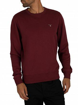 Gant Port Red Original Sweatshirt