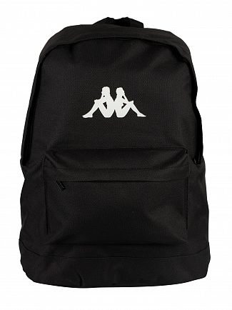 Kappa Black/White Banda Backpack