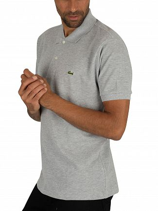 Lacoste Grey Logo Polo Shirt