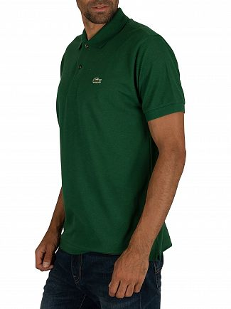 Lacoste Green Logo Polo Shirt