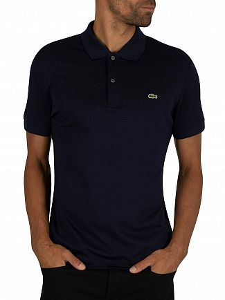 Lacoste Navy Logo Polo Shirt