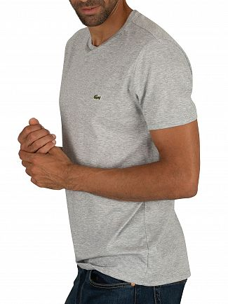 Lacoste Grey Logo T-Shirt