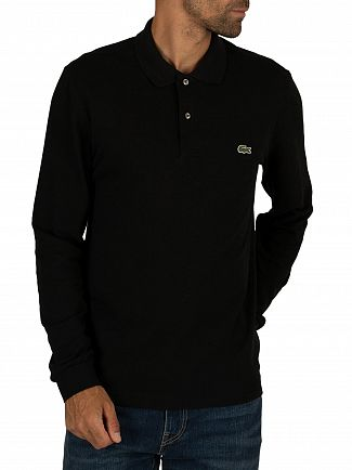 Lacoste Black Longsleeved Polo Shirt