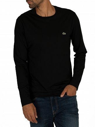 Lacoste Black Longsleeved T-Shirt