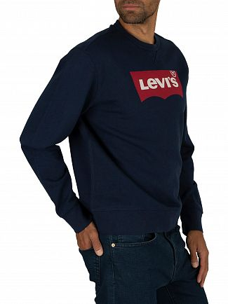 Levi's Dress Blue Graphic Sweatshirt