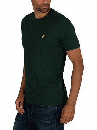 Lyle & Scott Jade Green Crew T-Shirt