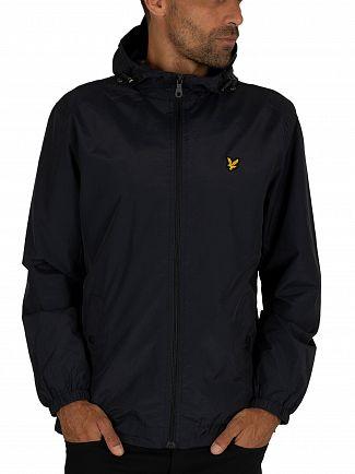 Lyle & Scott Dark Navy Hooded Jacket