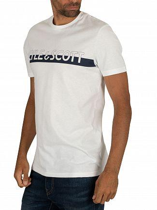 Lyle & Scott White Logo T-Shirt