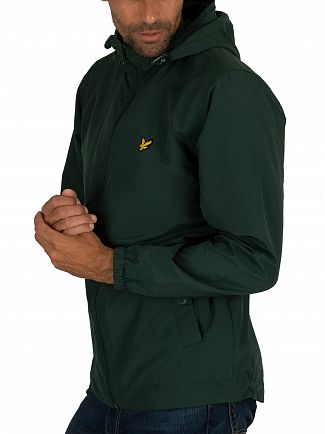 Lyle & Scott Jade Green Microfleece Lined Zip Jacket