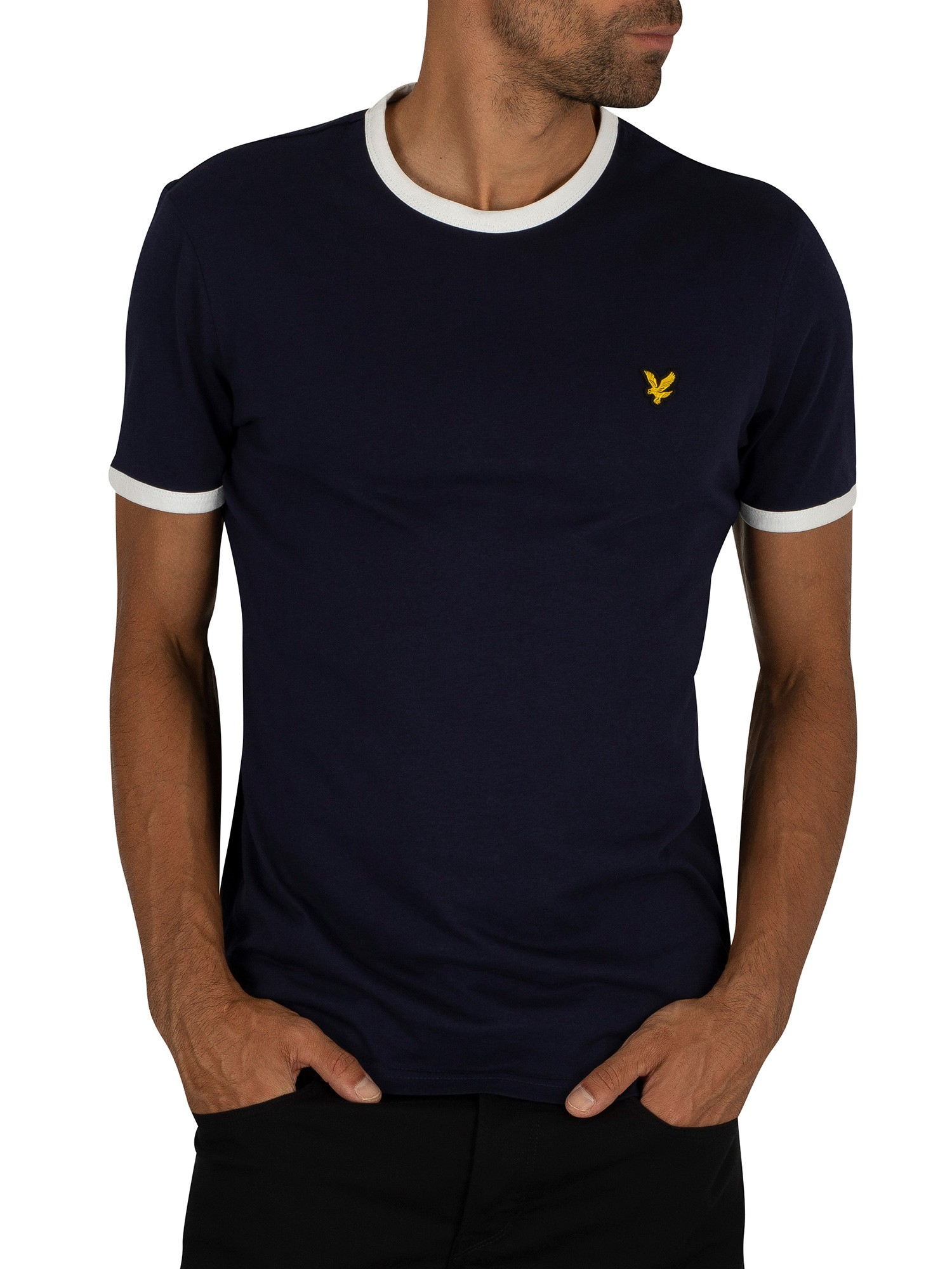 Lyle & Scott Ringer Navy