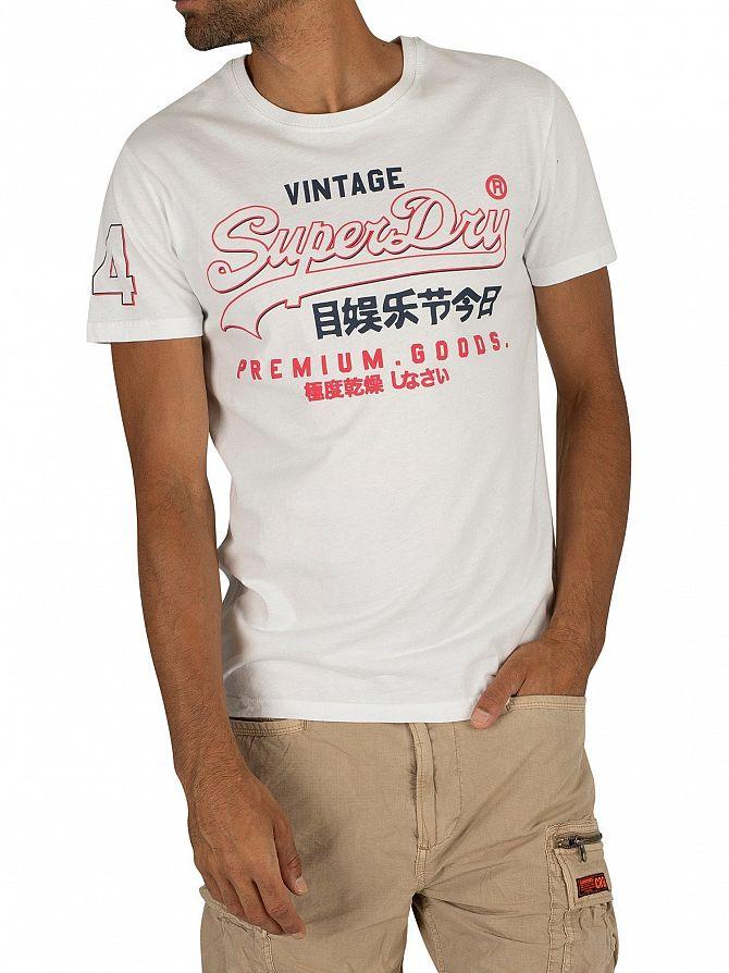 Superdry Optic Premium Goods Outline Mid T-Shirt