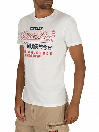 Superdry Optic Premium Goods Outline Mid T-Shirt