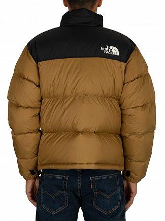 The North Face British Khaki 1996 Retro Nuptse Puffer Jacket