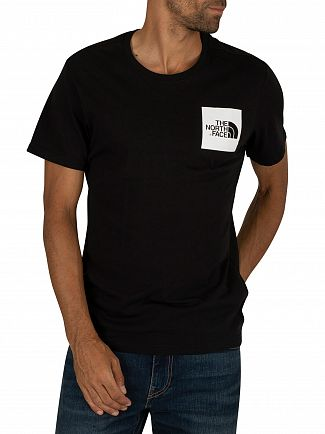 The North Face Black Fine T-Shirt