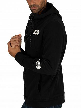 The North Face Black Lite Zip Hoodie