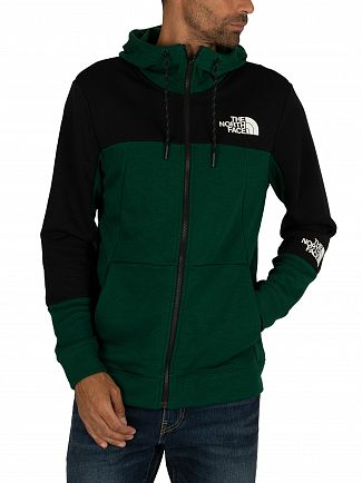 The North Face Night Green Lite Zip Hoodie