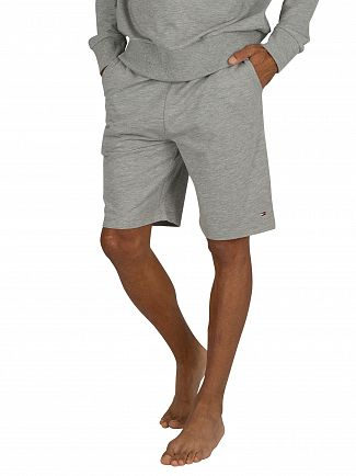 Tommy Hilfiger Grey Heather Jersey Sweat Shorts