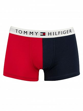 Tommy Hilfiger Navy Blazer Original Color Block Trunks