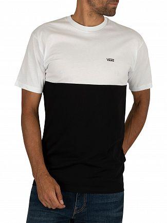 Vans White/Black Colorblock T-Shirt