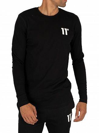 11 Degrees Black Core Longsleeved T-Shirt